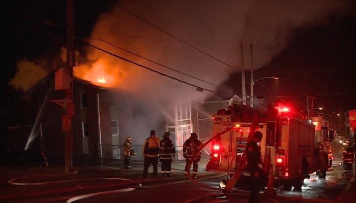 إصابة 6 أشخاص جراء حريق في مبنى سكني بالعاصمة الألمانية