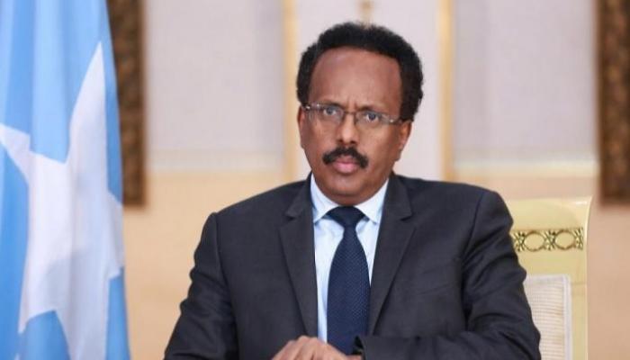 الرئيس الصومالي محمد عبدالله فرماجو<br/>