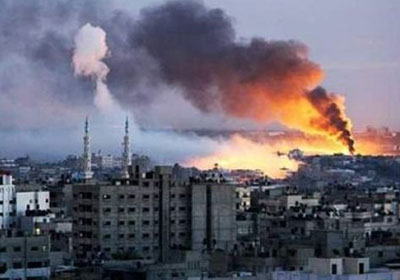 غارات جوية اسرائيلية على غزة