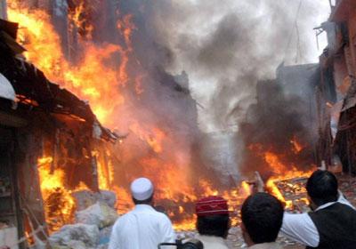 الشرطة الباكستانية: انفجار قنبلة في هجوم انتحاري بإسلام أباد - بوابة الشروق
