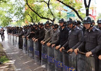 لانتشار قوات الجيش بالشوارع في تايلاند - أرشيفية