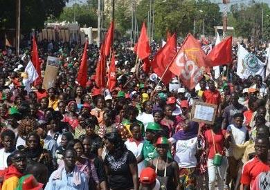 احتجاجات في بوركينا فاسو - ارشيفية