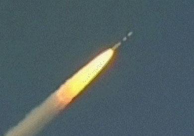 احدى الصواريخ