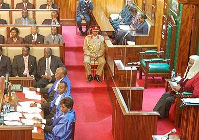 البرلمان الكيني - ارشيفية
