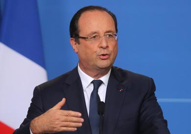 الرئيس الفرنسي فرانسوا هولاند،