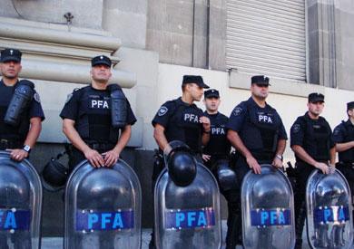 الشرطة الارجنتينية