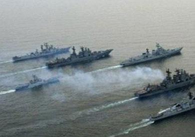 مناورة مشتركة بين القوات البحرية المصرية-أرشيفية