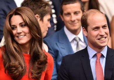 كيت ميدلتون وزوجها الأمير ويليام