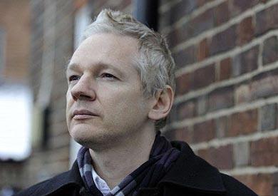 جوليان أسانج مؤسس موقع ويكيلكس