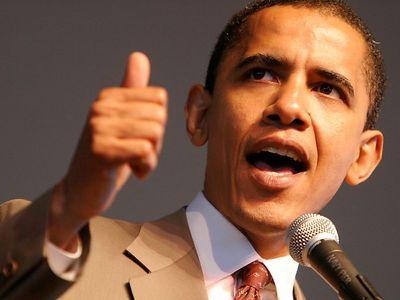 باراك أوباما الرئيس الأميركي