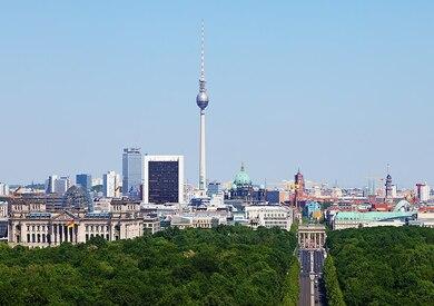 العاصمة الالمانية - ارشيفية
