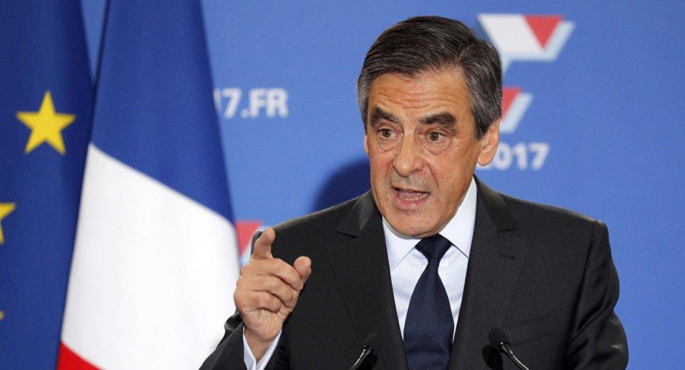 مرشح الرئاسة لليمين الفرنسي ﻓرانسوا فيون