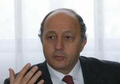 فابيوس وزير الخارجية الفرنسي