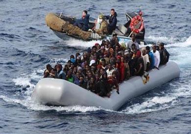 مهاجرين قرب ايطاليا