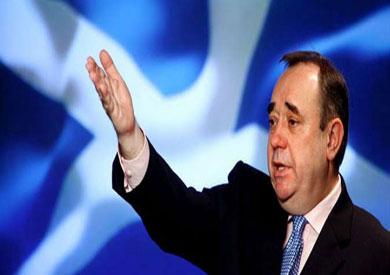 زعيم الحزب القومي الاسكتلندي السابق، ألكس سالموند