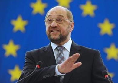 رئيس البرلمان الأوروبي مارتن شولتز