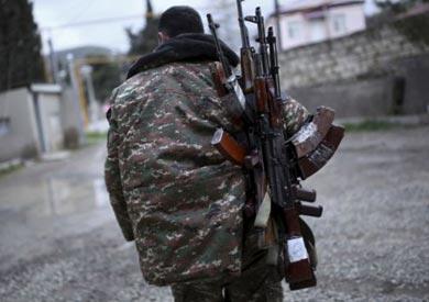 يسعى عدد من الشباب الأرمينيين في ناغورنو قره باغ إلى الانضمام لقتال أذربيجان.
