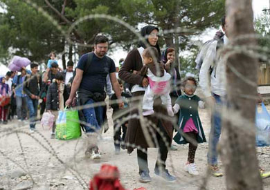 لاجئيين - ارشيفية