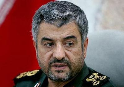 محمد على جعفري قائد الحرس الثوري الإيراني