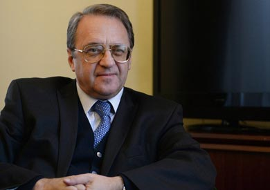 نائب وزير الخارجية الروسي مبعوث الرئيس إلى دول الشرق الأوسط وشمال إفريقيا ميخائيل بوجدانوف