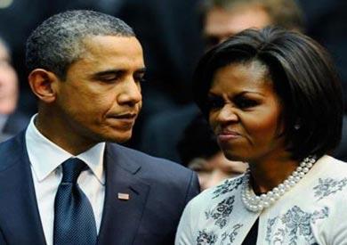 الرئيس باراك أوباما، وزوجته ميشيل