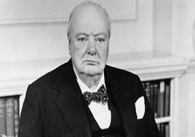 رئيس وزراء بريطانيا الراحل - وينستون تشرشل -ارشيفية