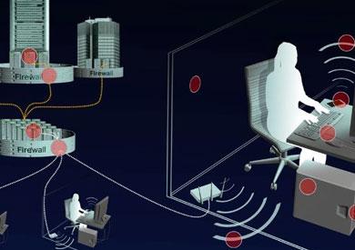 رسم توضيح تفاعلي لمسار المعلومات التي تجمعها وكالة الأمن القومي الأمريكية  كما تصورتها «شبيجل»