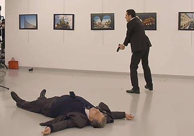 السفير الروسي في أنقرة أندريه كارلوف