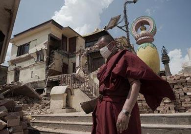 قصة معابد ومنازل جرفها زلزال نيبال