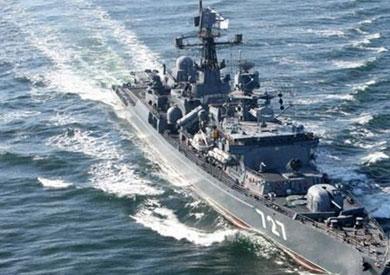 احدى السفن الروسية - ارشيفية