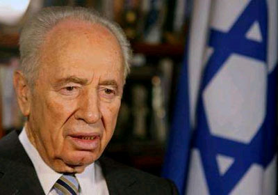 الرئيس الإسرائيلي الأسبق شمعون بيريز
