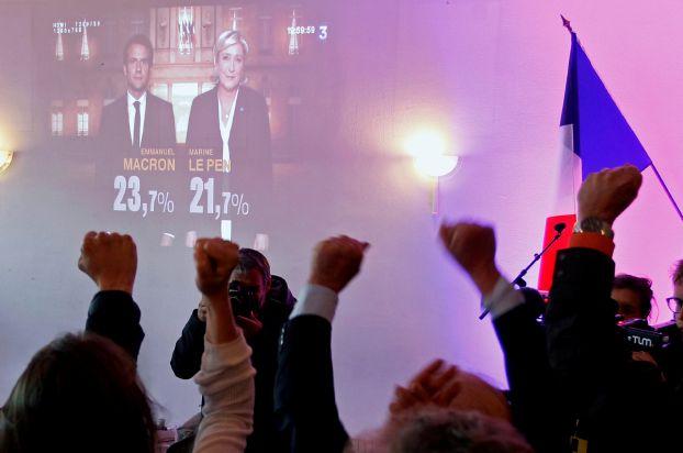 «ماكرون» و«لوبن» يتأهبان للمواجهة في جولة إعادة الانتخابات الرئاسية الفرنسية