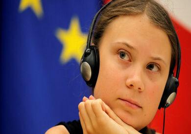 الناشطة المعنية بالمناخ السويدية جريتا تونبرج