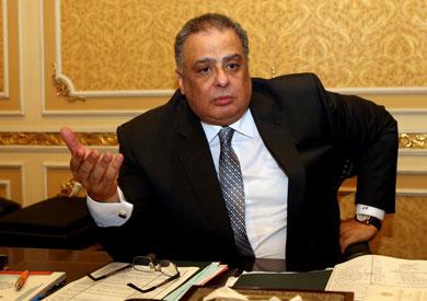 وزير العدالة الانتقالية المستشار إبراهيم الهنيدى