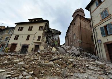 زلزالا إيطاليا