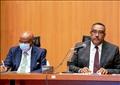 وزير الري الاثيوبي ووزير الخارجية