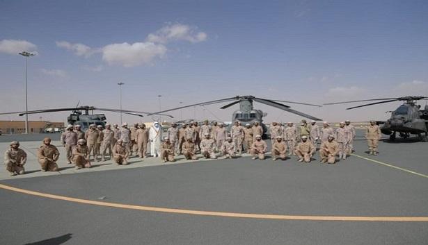 كبار قادة القوات المسلحة الإماراتية يزورون السعودية