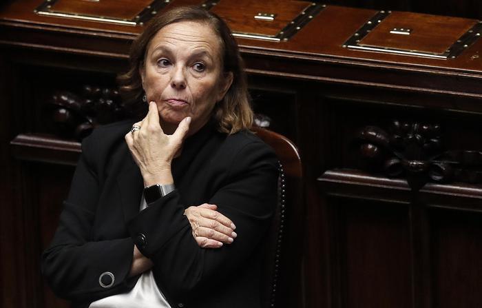 وزيرة الداخلية الايطالية، لوتشانا لامورجيزي