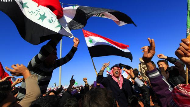 مجلس محافظة نينوى بالعراق يعلن البدء في إضراب عام تضامنا مع المتظاهرين في الأنبار