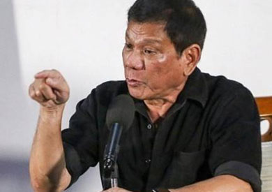 الرئيس الفلبيني رودريجو دوترتي