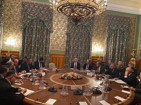 مفاوضات موسكو