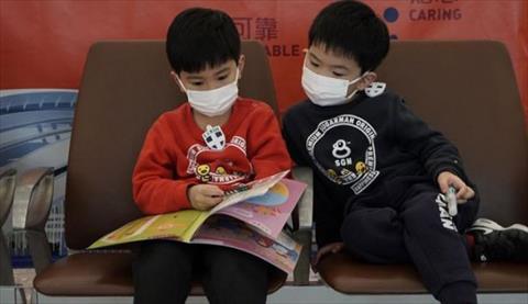 Image result for اطفال كورونا في صين