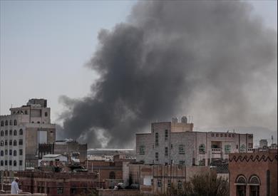 ضربات جوية ضد المليشيا الحوثية في اليمن