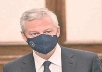 وزير الاقتصاد الفرنسي