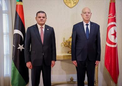 رئيس الحكومة الليبية يجري زيارة لتونس