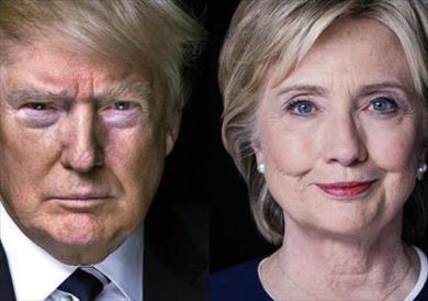 هيلاري كلينتون وترامب