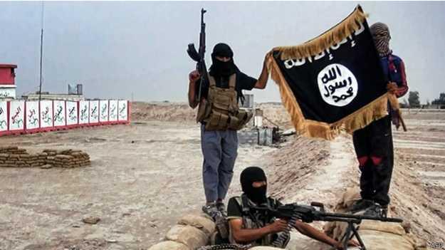 يسيطر مسلحو التنظيم على مساحات شاسعة من اراضي سوريا والعراق