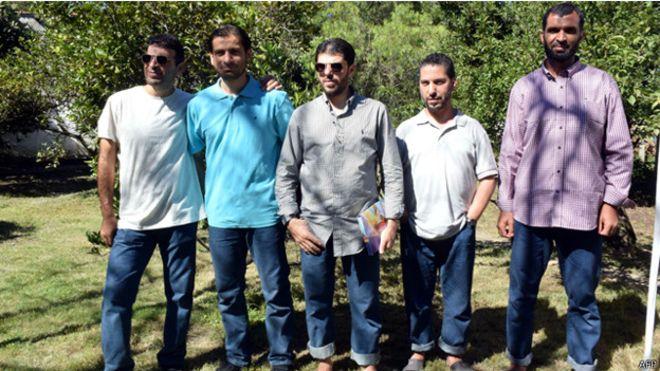امريكا - ترحيل أربعة من معتقلي جوانتانامو إلى أفغانستان