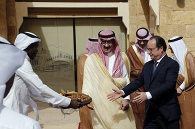 أولاند ضيف الشرف لمجلس التعاون الخليجي قمة في الرياض