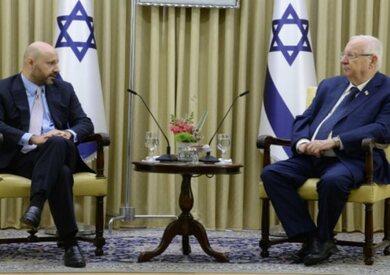 رئيس إسرائيل يستقبل رجل أعمال من أصل لبناني